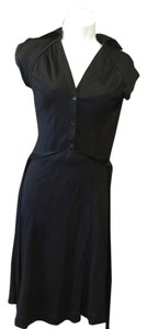 BCBGMAXAZRIA short dress Black on Tradesy