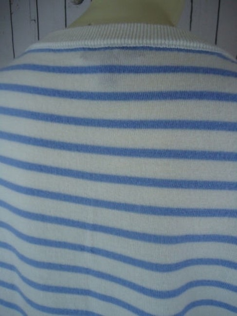 J.Crew Striped Merino Wool Butterflies Unique Chic Sweater Image 7