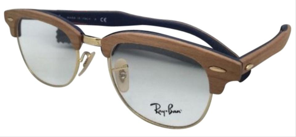 d7927479de Ray-Ban Rb 5154-m 5559 Cherry Wood On Blue Frames New Clubmaster Rx ...