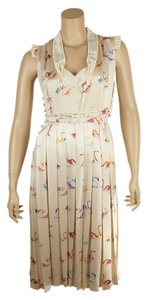 Multi-Color Maxi Dress by Marc Jacobs Silk Swan Size 0