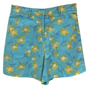 Lilly Pulitzer Mini/Short Shorts Blue, Purple, Yellow, Orange, White