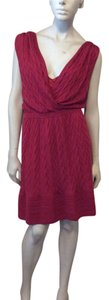 Missoni short dress Red on Tradesy