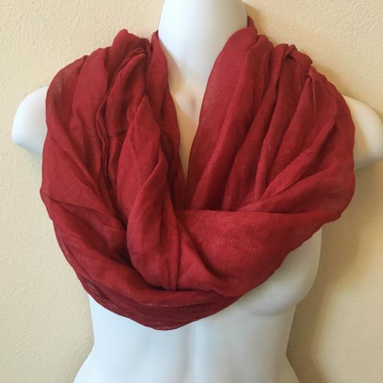 Other Rusty Red Shawl Scarf 70 X 26 Hint-of-shine Image 1