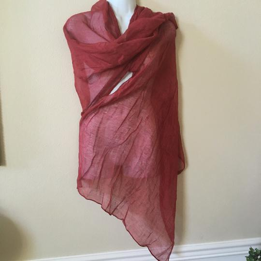 Other Rusty Red Shawl Scarf 70 X 26 Hint-of-shine Image 7