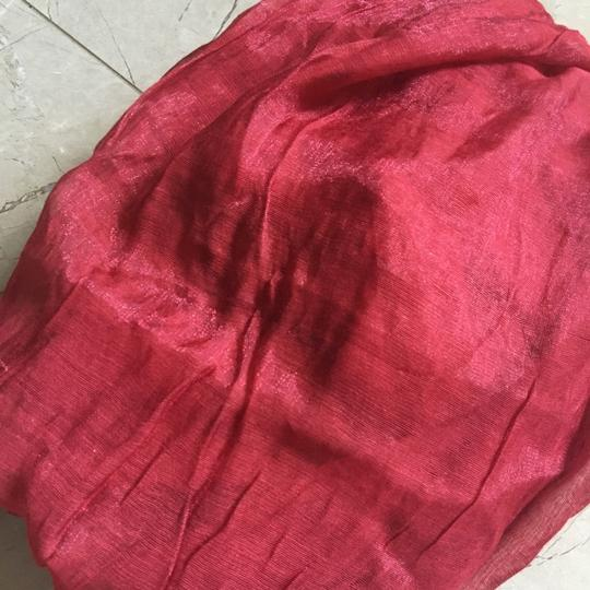 Other Rusty Red Shawl Scarf 70 X 26 Hint-of-shine Image 9