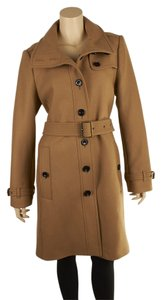 Burberry Brit Trench Wool Blend Trench Coat