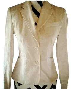 Paniz Cream, brocade Blazer