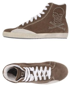 Cult Italian Suede Trainers Rocker Gray Athletic