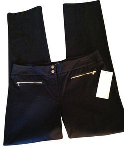 Alfani Stretch Straight Pants black