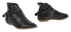 House of Harlow 1960 Boho Leather Black Boots