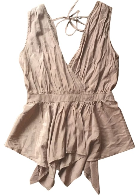 Preload https://img-static.tradesy.com/item/14207389/anthropologie-brown-vneck-tank-blouse-night-out-top-size-4-s-0-1-650-650.jpg