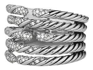 David Yurman David Yurman Willow Ring (5 row) STYLE NUMBER: R11771DSSADI