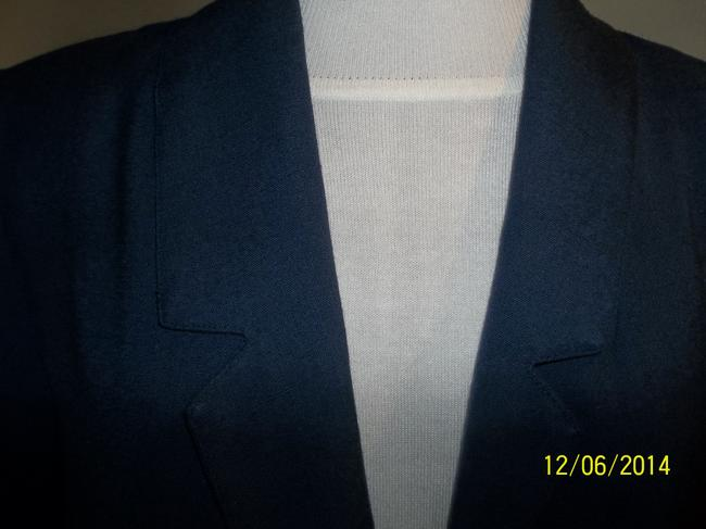 Block Island Pettite Blazer Suit Jacket Layer Business Career Cardigan