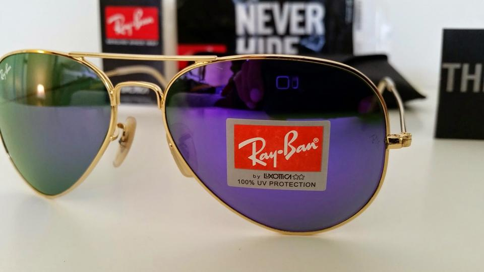 cheap ray ban aviators fw5v  discount ray ban aviators purple mirror gold