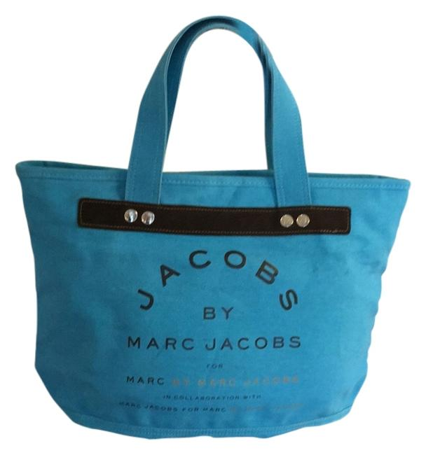 Item - Turquoise Blue Canvas Tote