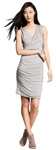Banana Republic short dress Grey Space Dye on Tradesy