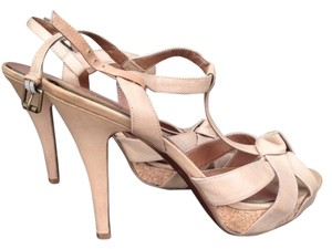 No 704b Tan Pumps