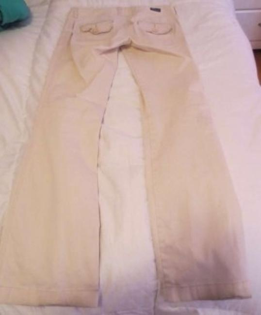 Hollister Boot Cut Pants beige/khaki