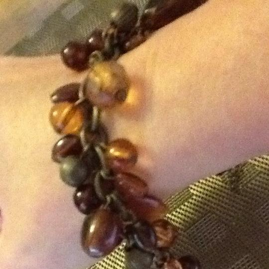 Other Dangle Stones And Faceted Beads Bracelet