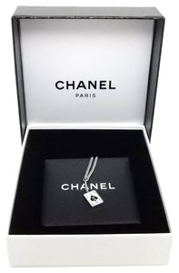 Chanel Chanel Ace of Spades CC Cards Chain Pendant Necklace.
