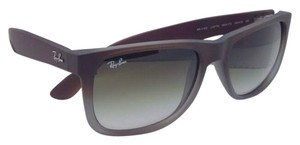 Ray-Ban Ray-Ban Sunglasses JUSTIN RB 4165 854/7Z Rubber Brown on Grey Frames