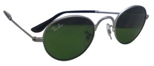 Ray-Ban Junior Collection Kids Ray-Ban Sunglasses RJ 9537-S 200/2 40-20 Gunmetal Frame w/ Green Lenses