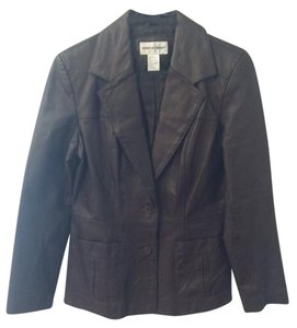 Newport News Brown Leather Jacket