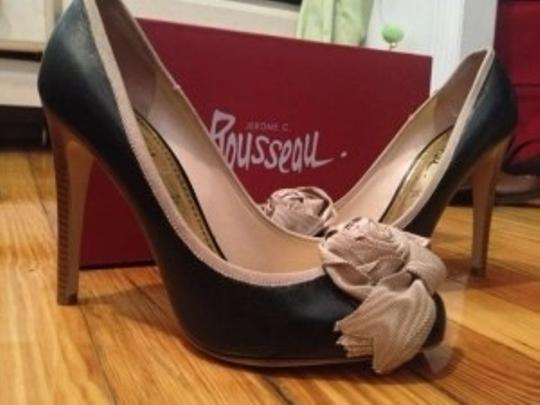 Jerome C. Rousseau Black Pumps