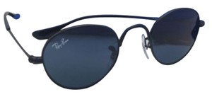 Ray-Ban Junior Collection Kids Ray-Ban Sunglasses RJ 9537-S 201/80 40-20 Black Frame w/ Blue Lenses