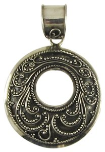 Island Silversmith Island Silversmith .925 Sterling Silver Handmade Scroll Pendant 0601L *FREE SHIPPING*