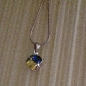 Other Sterling Silver And Multi Stone Pendant