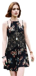 Free People short dress Carbon Combo #0948 New & on Tradesy
