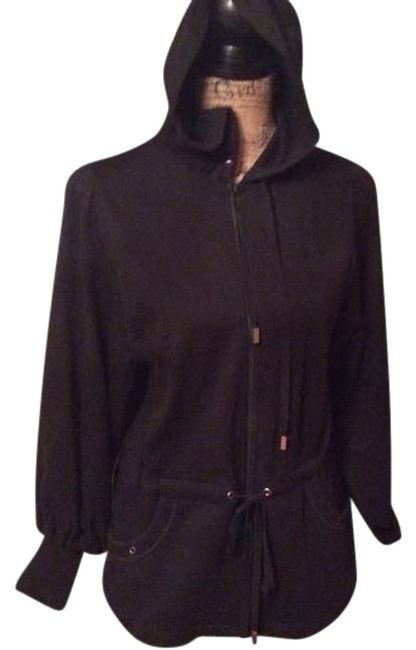 Preload https://img-static.tradesy.com/item/1421169/spiegel-black-w-silver-accents-matching-sweat-pant-matching-hoodie-set-activewear-gear-size-2-xs-26-0-0-650-650.jpg