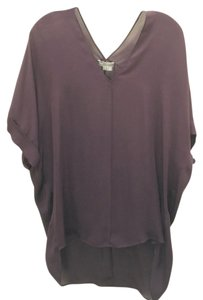 Vince Top Plum, purple, maroon