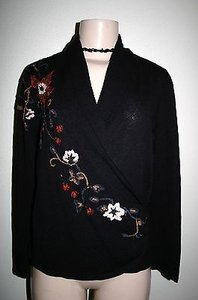Coldwater Creek Floral Sweater
