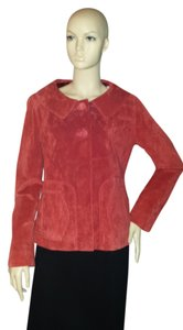 Isabella Bird red suede Jacket