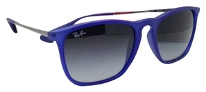 Ray-Ban Ray-Ban Sunglasses CHRIS RB 4187 899/8G 54-18 Rubberized Blue Frames