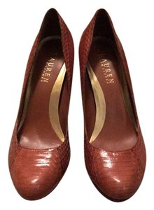 Lauren Ralph Lauren Brown Pumps