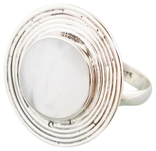 Island Silversmith Island Silversmith .925 Sterling Silver Mother of Pearl Ring Adj Size 6-9 0601C *FREE SHIPPING*