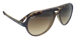 Ray-Ban New RAY-BAN Sunglasses RB 4125 CATS 5000 710/51 59-13 Havana Tortoise Frame w/ Brown Gradient Lenses