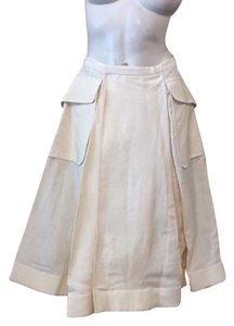 Jean-Paul Gaultier Skirt Ivory