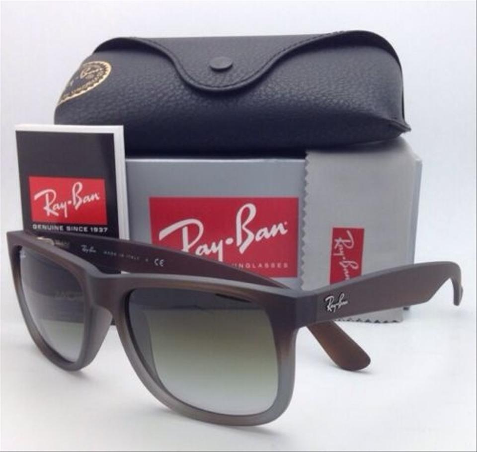 ee61936ab851 ... Ray-Ban Sunglasses JUSTIN RB 4165 854 7Z 51 Rubber Brown. 1234567