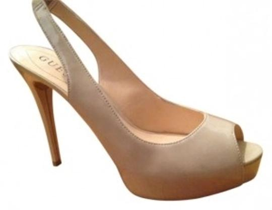 Preload https://item1.tradesy.com/images/guess-beige-aero-peep-toe-slingbacks-pumps-size-us-85-142145-0-0.jpg?width=440&height=440