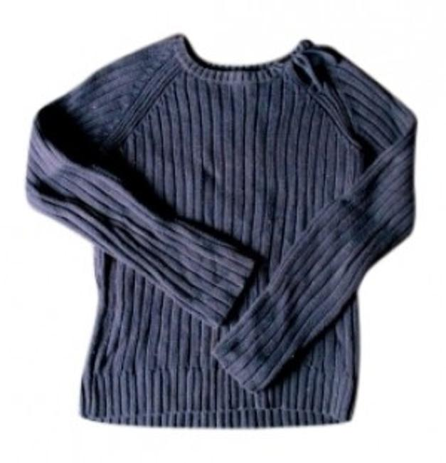 Preload https://img-static.tradesy.com/item/142146/jcrew-navy-keyhole-sweaterpullover-size-4-s-0-0-650-650.jpg