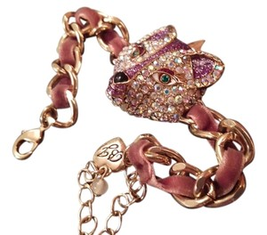 Betsey Johnson Fox Bracelet