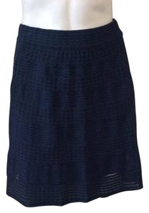 Missoni Mini Skirt Navy Blue