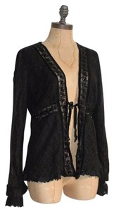 Anthropologie Vicorian Sweater Lace Sequin Gothic Cardigan