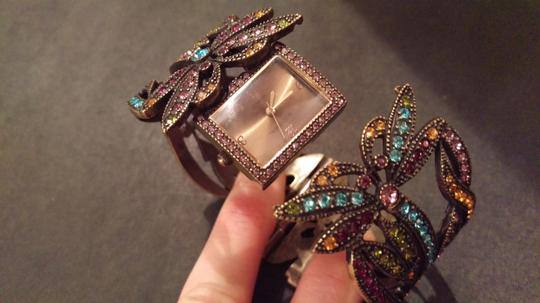 Heidi Daus Dragonfly watch with crystals