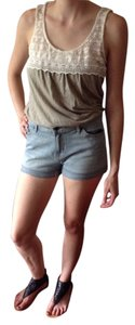 BDG Denim Shorts-Light Wash