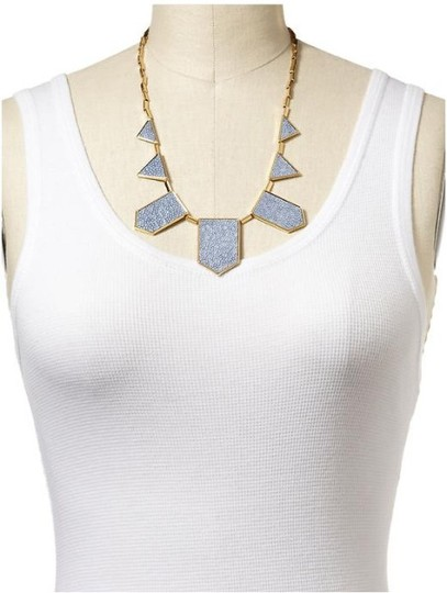 House of Harlow 1960 HOUSE OF HARLOW BLUE STAR STATION NECKLACE